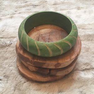 Jewelry - Wood Bangle